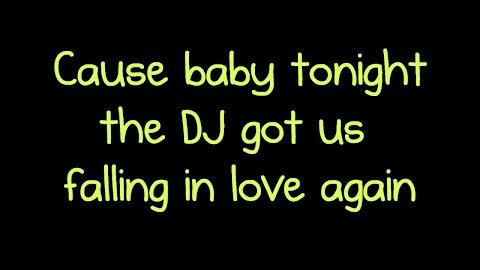 Dj Guy Is Falling In Love Again Lyrics