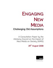 AIMS consultation paper - Engaging New Media.pdf (105 pages)