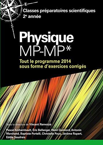 telecharger des livres gratuit physique mp mp classes preparatoires scientifiques annee