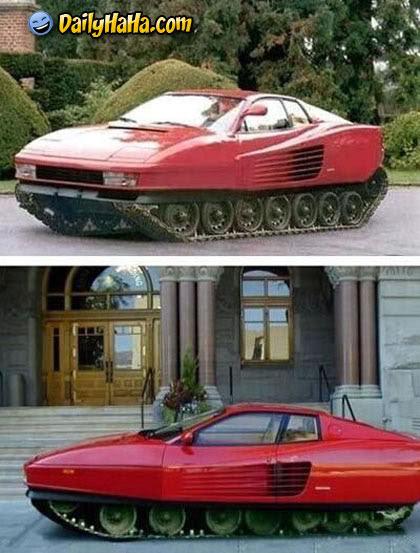 Carro-Tanque esportivo