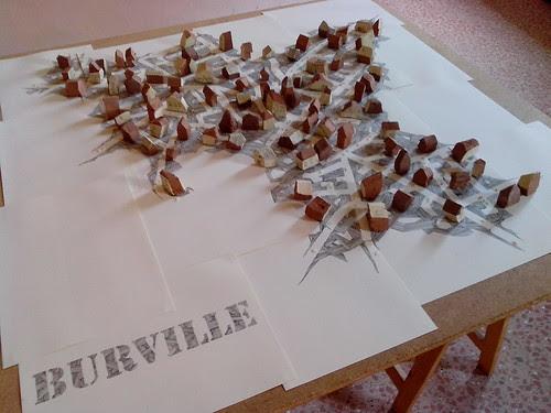 Burville: parte dell'installazione.. by Ylbert Durishti
