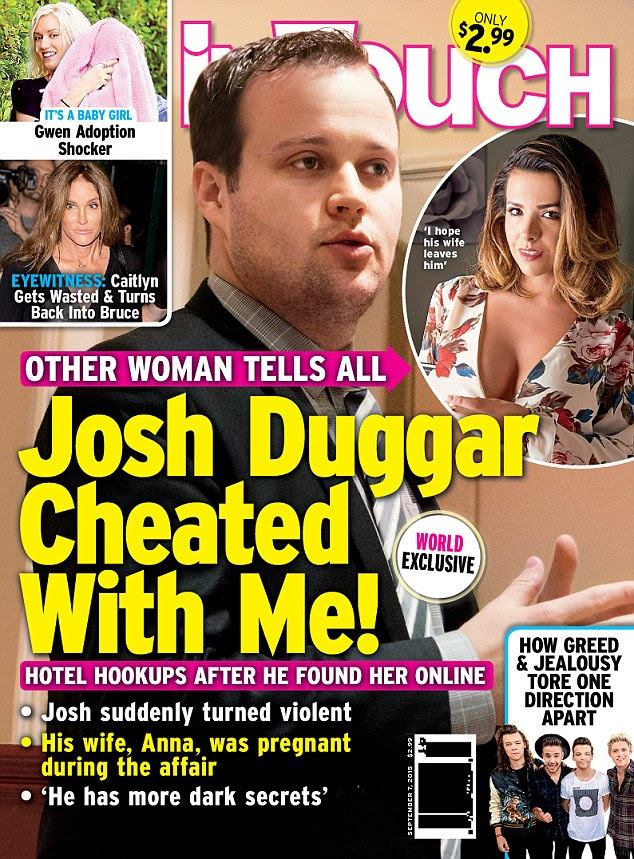 Dillon revealed the explosive details to In Touch Weekly magazine while taking a lie detector test