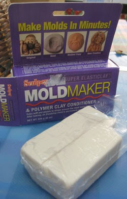 Sculpey Mold Maker Squishy Bun : How to make miniature figures using a polymer clay mold - Mech9.com Anime and Mecha Review ...