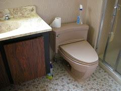 1969 Fawn Beige Toilet