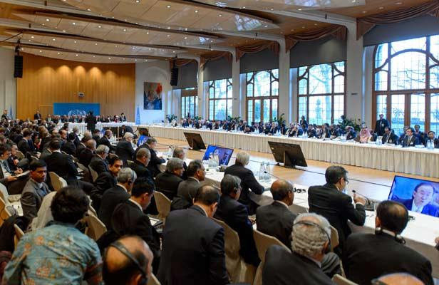Conferência Genebra II Crédito: AFP, Fabrice Coffrini
