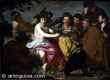 """""""Los Borrachos"""" de Diego Velázquez"""