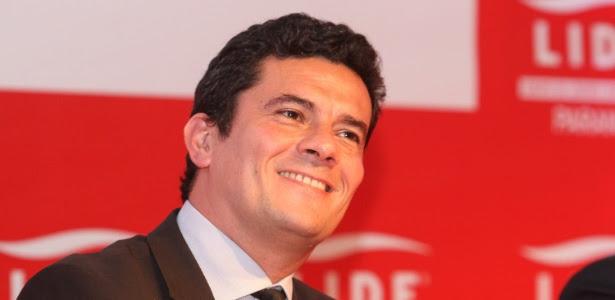O juiz Sérgio Moro, que também vai analisar denúncia contra Lula do MP-SP