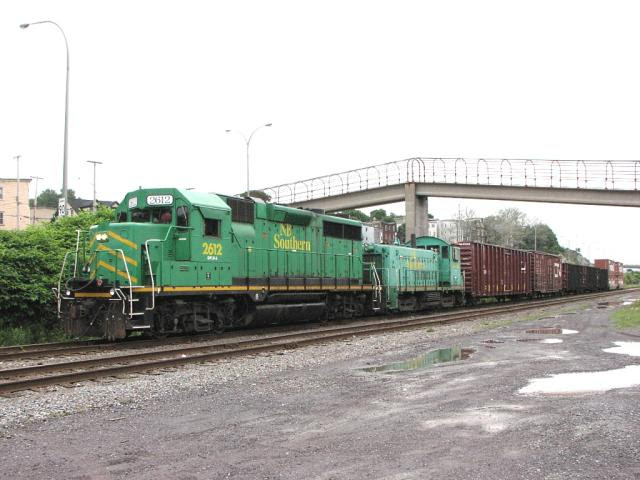NBSR 2612 and 3702 in Saint John