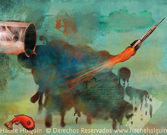 Ilustración: otros temas por Hache Holguín