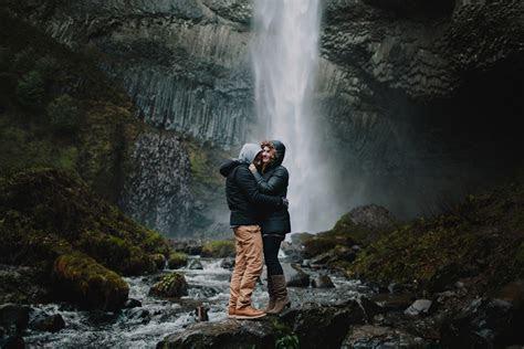 Tessa & Sebastien / Cascade Locks, Oregon   Robert J Hill
