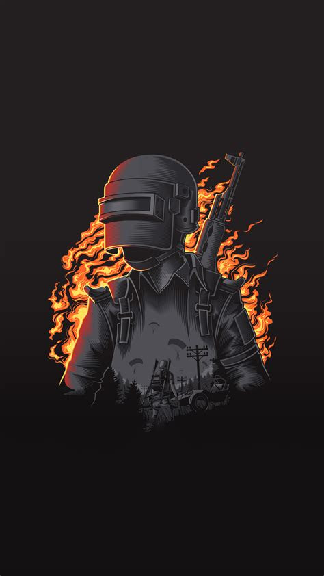 pubg illustration  iphone   pixel