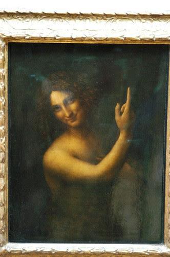 John the Babtist by Leonardo da Vinci