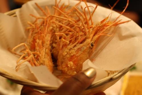 Fried Shrimp Heads