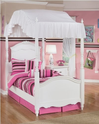 Canopy beds for girls exquisite youth canopy bed - Canopy beds for little girls ...