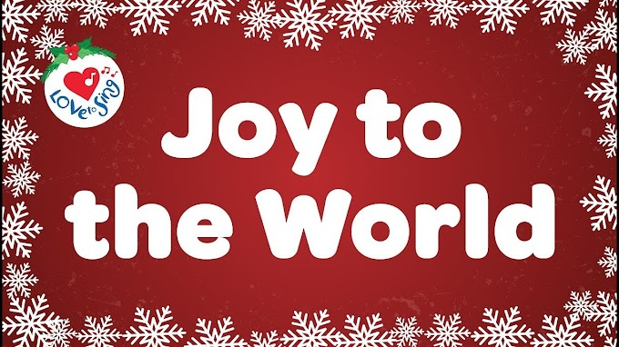 Joy to the world Song Lyrics | Christmas Song | Issac Watts |