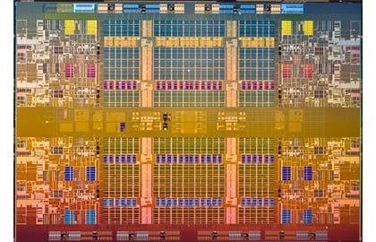 Intel Nehalem-EX Die Shot