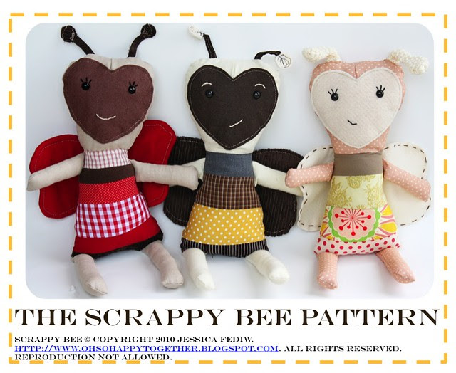 The Scrappy Bee Pattern