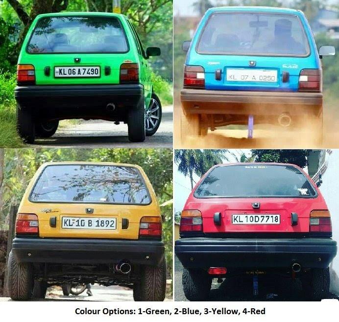 Maruti 800 Car Modification Accessories - Best Car 2019