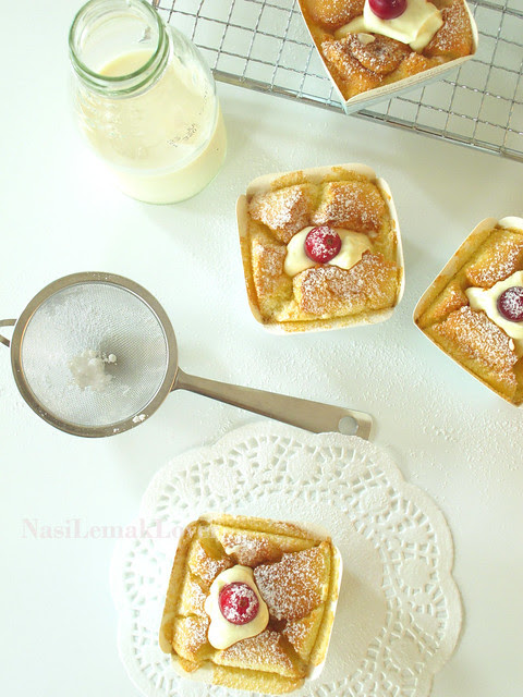 Hokkaido chiffon cupcakes 北海道牛奶蛋糕