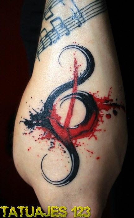Tribal Ensangrentado Tatuajes 123