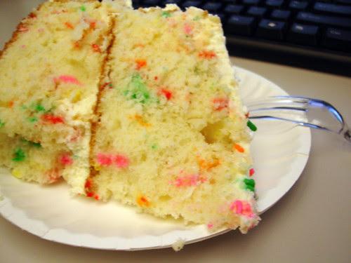 Birthday Cake at work