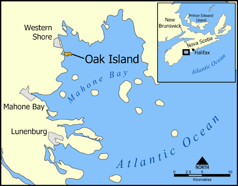 Where Is The Curse Of Oak Island Filmed