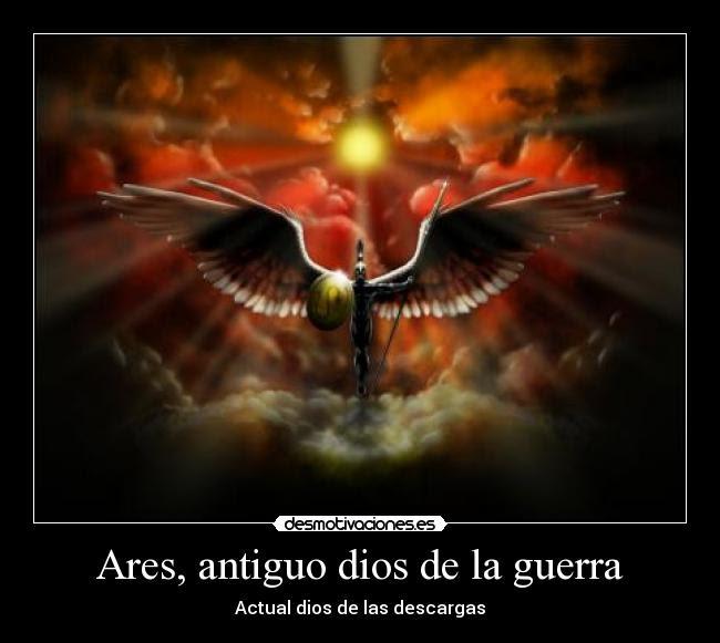 Ares Antiguo Dios De La Guerra Desmotivaciones