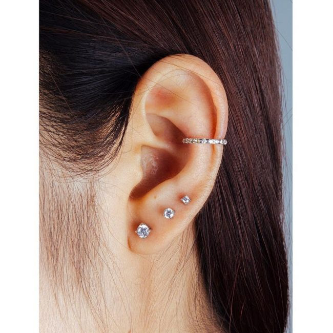 The Edgy Cartilage Piercing 60 Best Ideas Rules2018