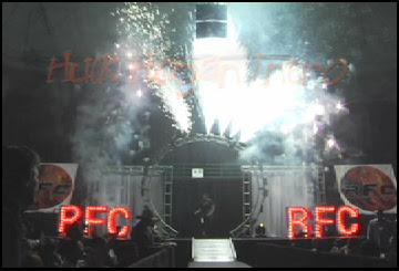 <emptyindoor pyrotechnics gerbs sparks