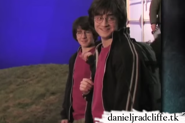Harry Potter Wizard's Collection clip: Daniel's stunt & body doubles