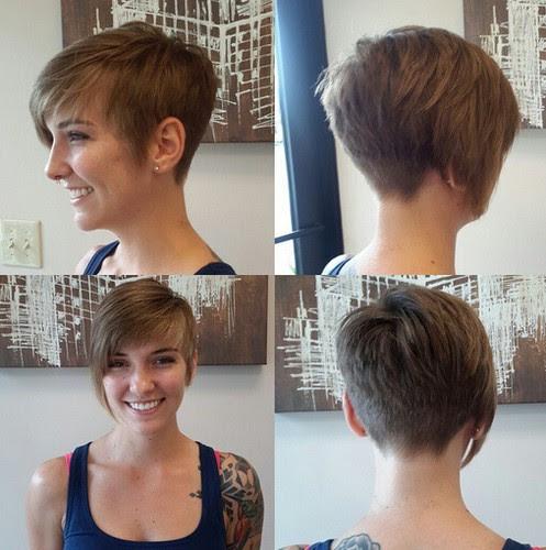 Asymmetrische Frisuren Hinten Kurz Vorne Lang Frisur