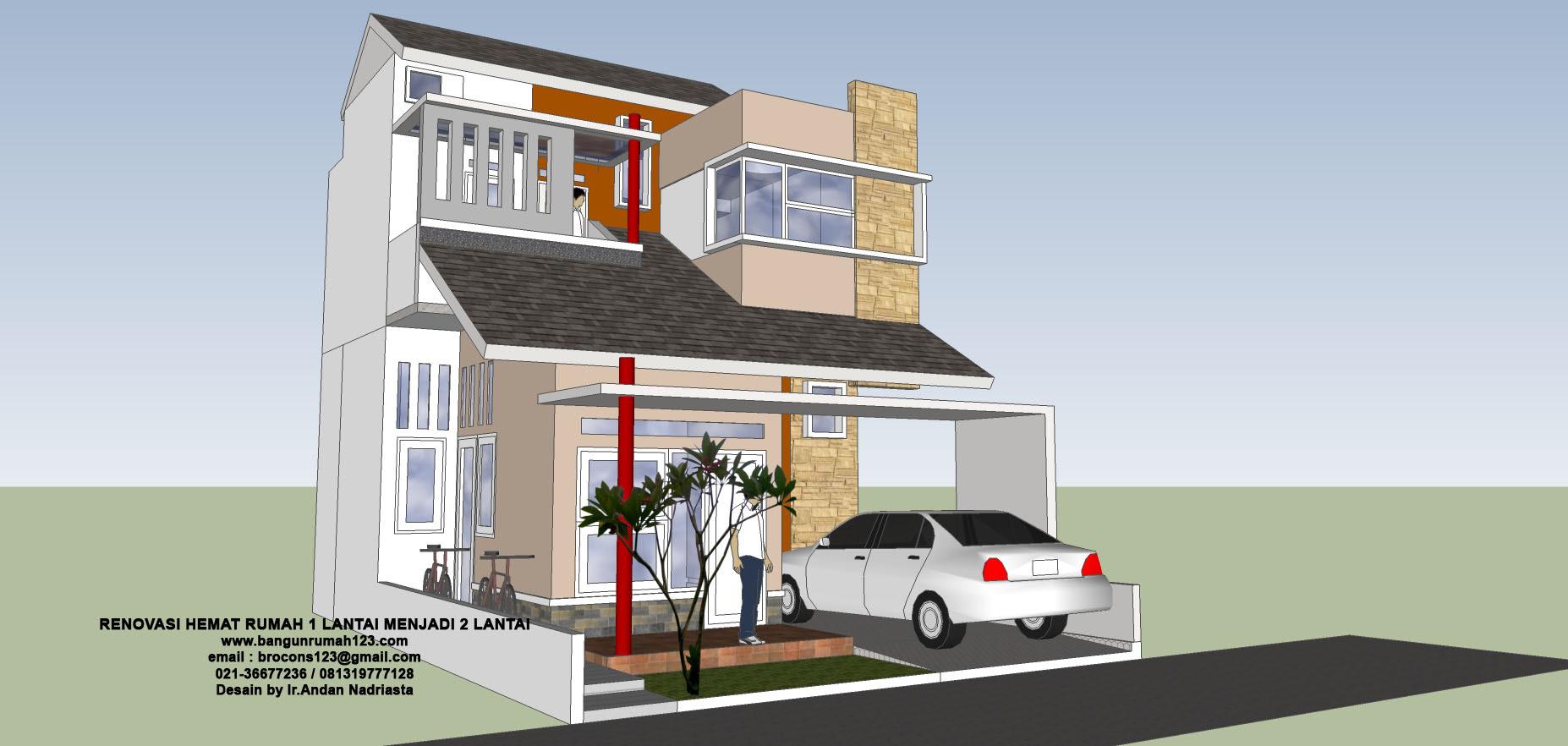 55 Gambar Rumah Bertingkat Bagian Samping Gratis Terbaru