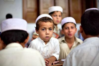 Boys in madrassa (school), Pabbi