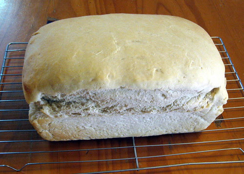 Fresh baked bread ~ white