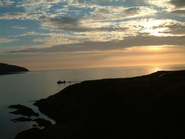 File:Sunset at Gwbert - geograph.org.uk - 196753.jpg