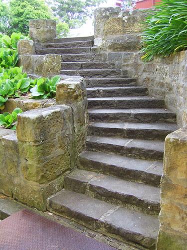 stone steps at Frensham