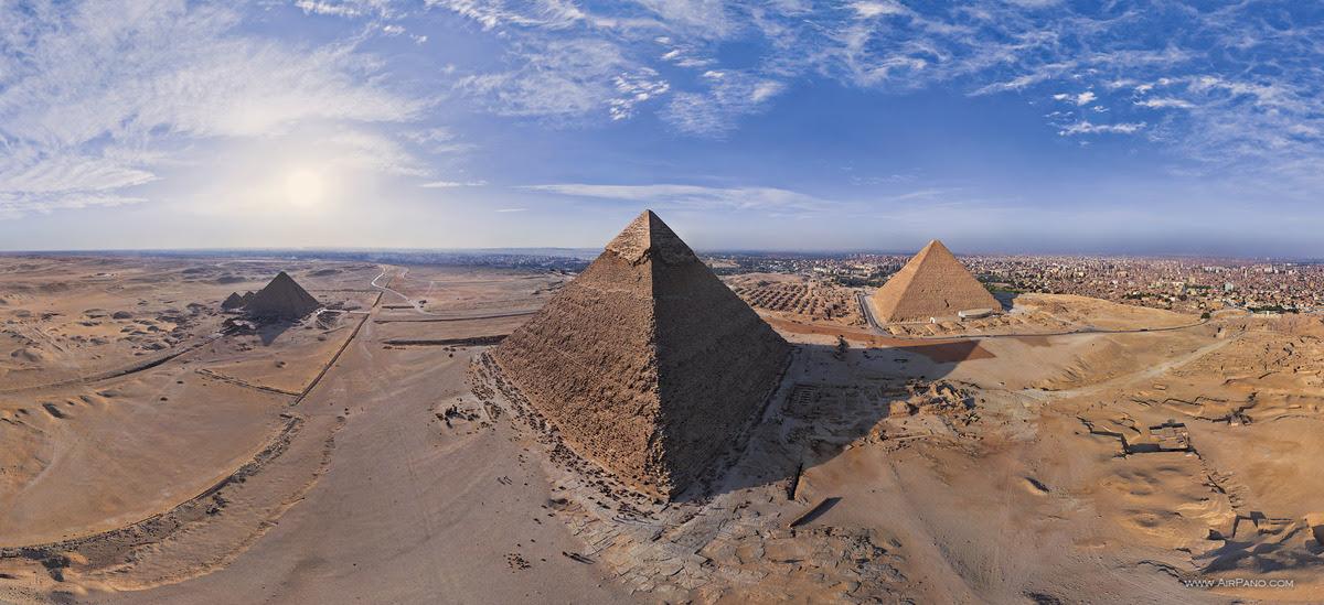 Giza Piramiti, Mısır