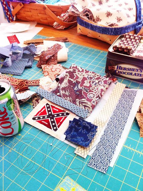 IMG_2937 Gettysburg Battle Flag quilt block