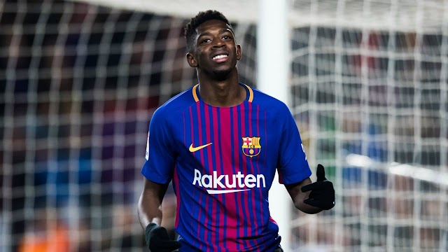 LaLiga: Barcelona tell Dembele to leave club