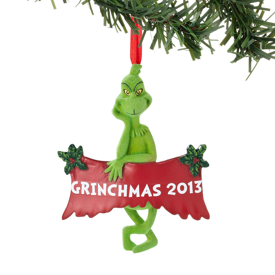Grinch 2013 Dr Seuss Figurines Ornaments Figurines One Price