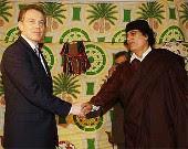 Qaddafi, Blair, Handshake, Freemasonry, Freemasons, Freemason, Masonic, Symbols