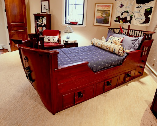 Totally Awesome Boat Beds || KidSpace Interiors