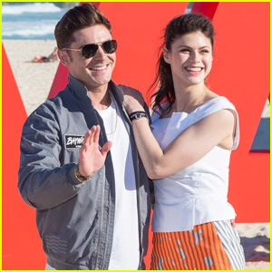 Zac Efron & Alexandra Daddario Are 'Baywatch' Bondi Babes