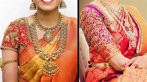 Latest Indian Designer Bridal Blouses Designs Collection