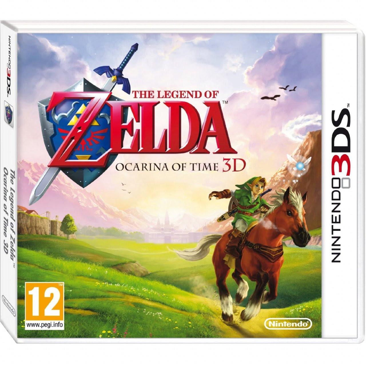 Zelda Ocarina Of Time 3d S European Box Art Is Simply Beautiful