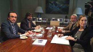 Reunió Josep Rull i Ana Pastor