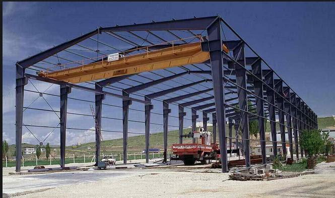 Struktur Baja Gudang Desain Besar Span Baja Ruang Bingkai Struktur Gudang Berita Laizhou Hongshengda Machinery Co Ltd