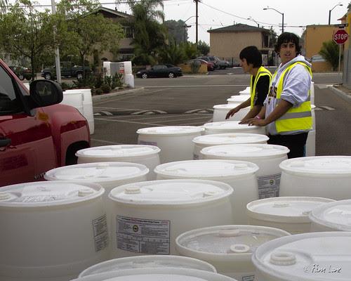 Downey preparedness barrels