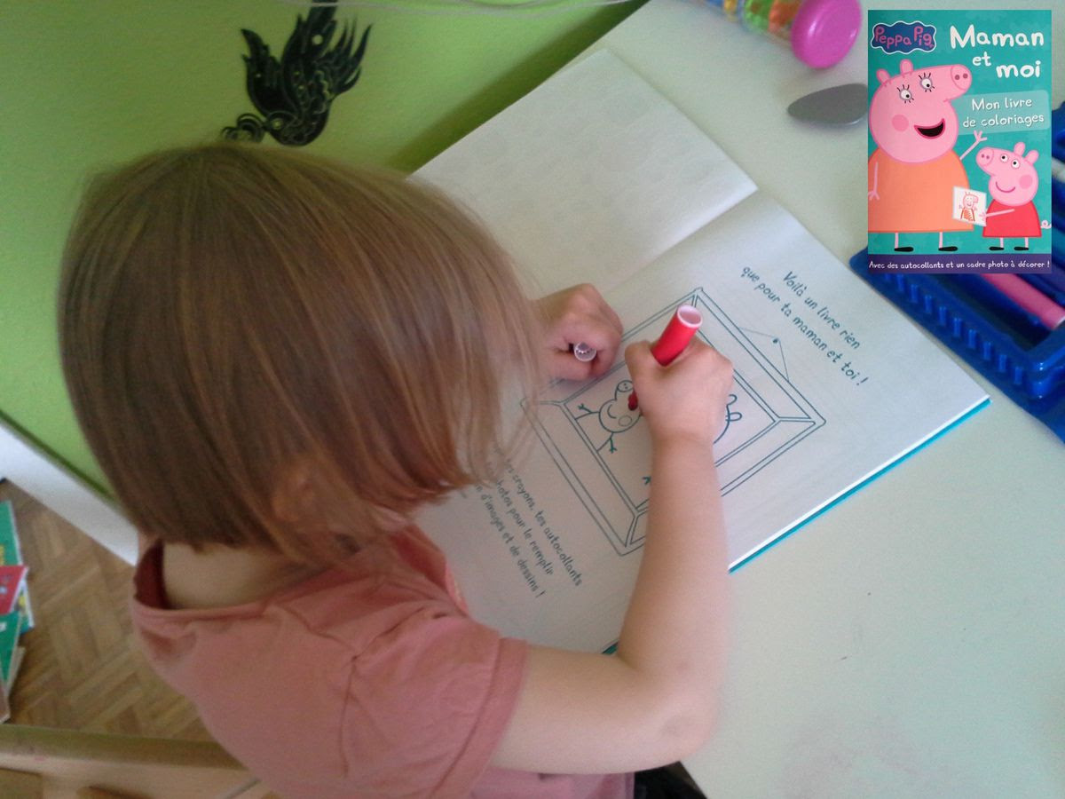 """[Papath¨que] Coloriage """"Peppa Pig"""