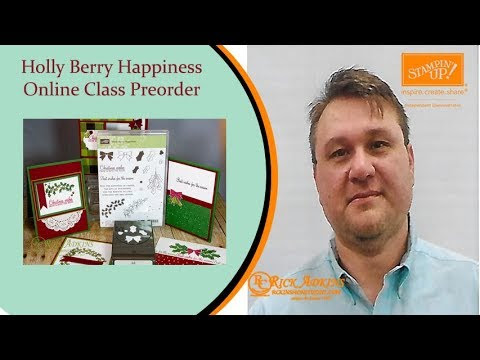 Holly Berry Happiness Online Class Preorder